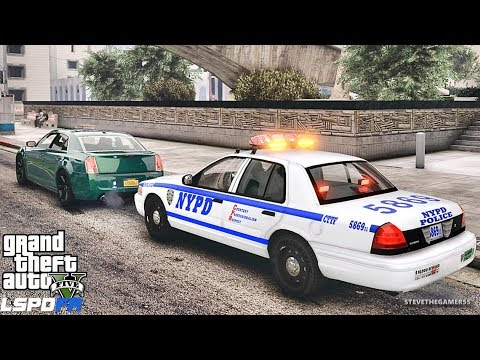 GTA 5 MOD LSPDFR 662 - NYPD PACK !! (GTA 5 REAL LIFE PC MOD)