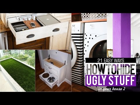 21 Ways to Hide and Organize Things in your House #2