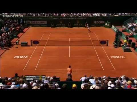 Nadal vs Djokovic : Monte-Carlo 2012 Final : Highlights