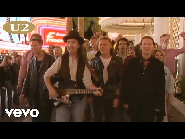 U2 - I Still Haven't Found What I'm Looking For (Official Music Video)