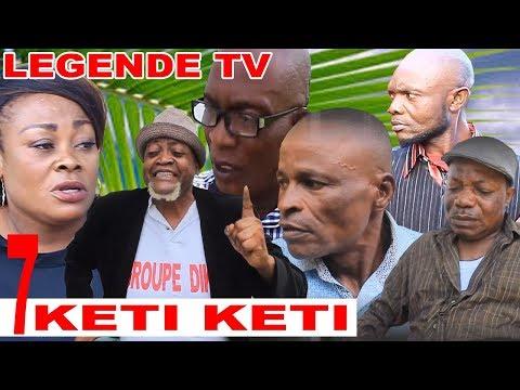 KETI KETI, EP: 7 -Theatre congolais-vue de loin-Makaya-ebakata-nsakala-theresia-meteo-legende tv