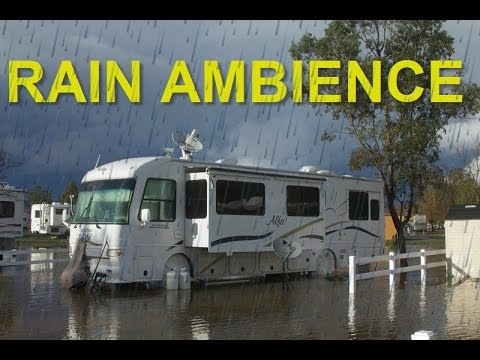 White Noise Rv Ambience Rain On Motorhome Roof 8