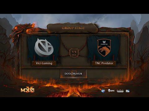 Vici Gaming Vs TNC Predator, MDL Chengdu Major, Bo5, Game 1 [Lex & 4ce]