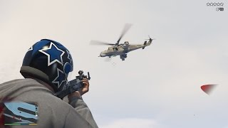 GTA V:  The Army Spawns at Five Stars Mod PC