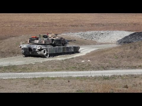 Marines With 2nd Tank Battalion, 2nd Marine Division, Practice Their Skills