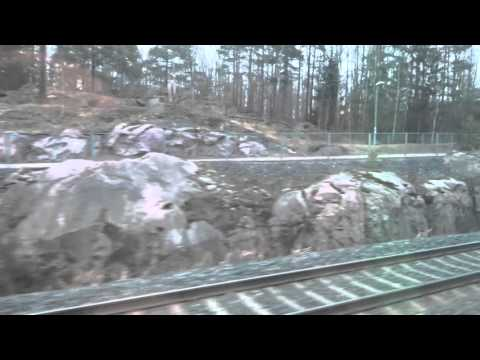 Riding the VR Pendolino 976 fr. Turku (Åbo) to Helsinki (Helsingfors), 01.04.2016, 7:25-8:56, Part 4
