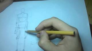 """Уроки рисунка 4 """"Основные пропорции человеческого тела"""" (Часть 1)"""