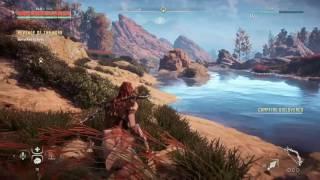 Horizon Zero dawn free roam gameplay