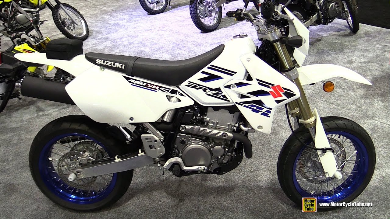 2017 suzuki dr z 400 sm super motard walkaround 2016 aimexpo orlando youtube. Black Bedroom Furniture Sets. Home Design Ideas