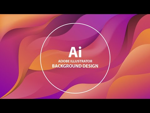 Modern Background Design In Adobe Illustrator