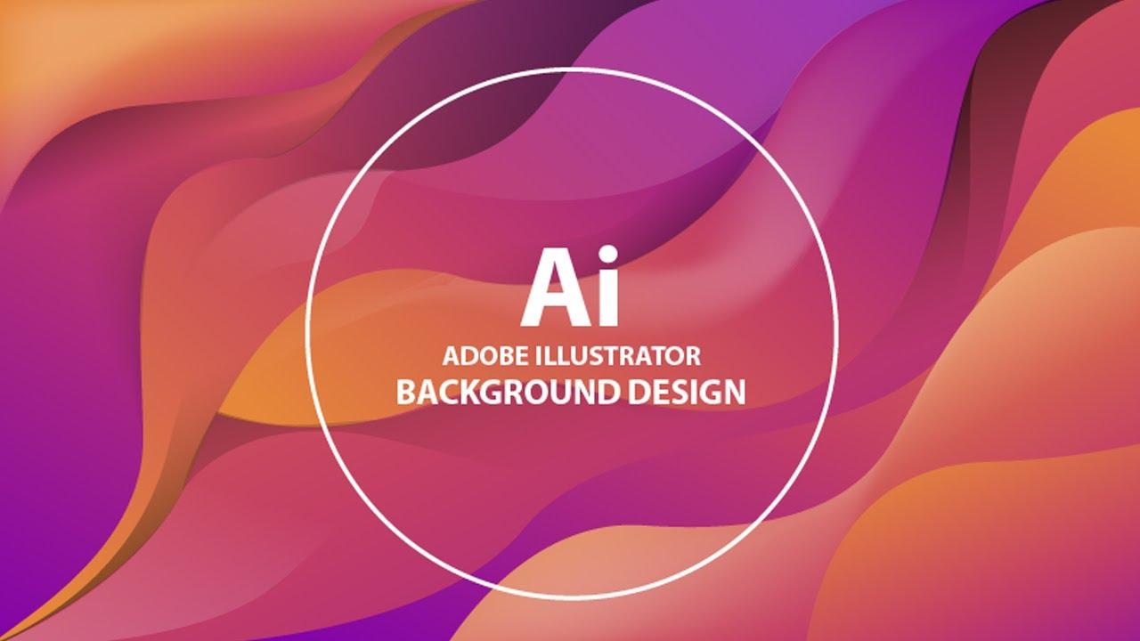 Create Elegant Liquid Background | Adobe Illustrator Tutorial