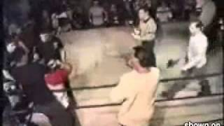 Супер прием Судьи против боксера!