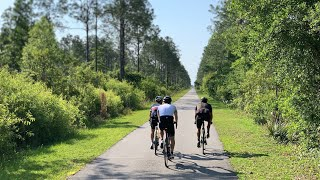 Bike Trails in Florida - Century Ride from DeBary to New Smyrna Beach