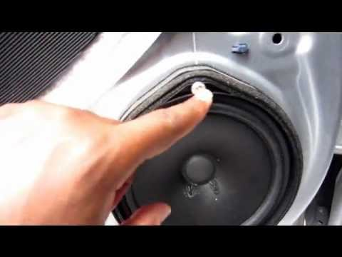 how to remove door panel and install speakers on a 2010 honda accord lx sedan youtube. Black Bedroom Furniture Sets. Home Design Ideas