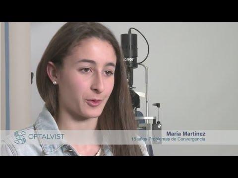 Imagen de Paciente problema de convergencia, Oftalvist - Terapia Visual - María Martínez