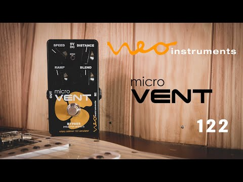 Neo Instruments micro Vent 122 Rotary Speaker Simulator Pedal