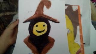 Summerween trickster painting
