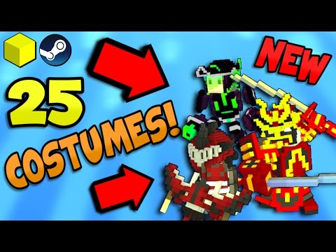 25 NEW CHAOS CRAFTER COSTUMES IN TROVE! ✪ April 11, 2017