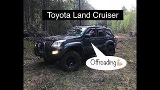 Toyota Arctic Trucks offroading