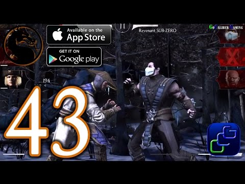 Mortal Kombat X iOS Walkthrough - Part 43 - Unstoppable JASON Challenge Battles 5