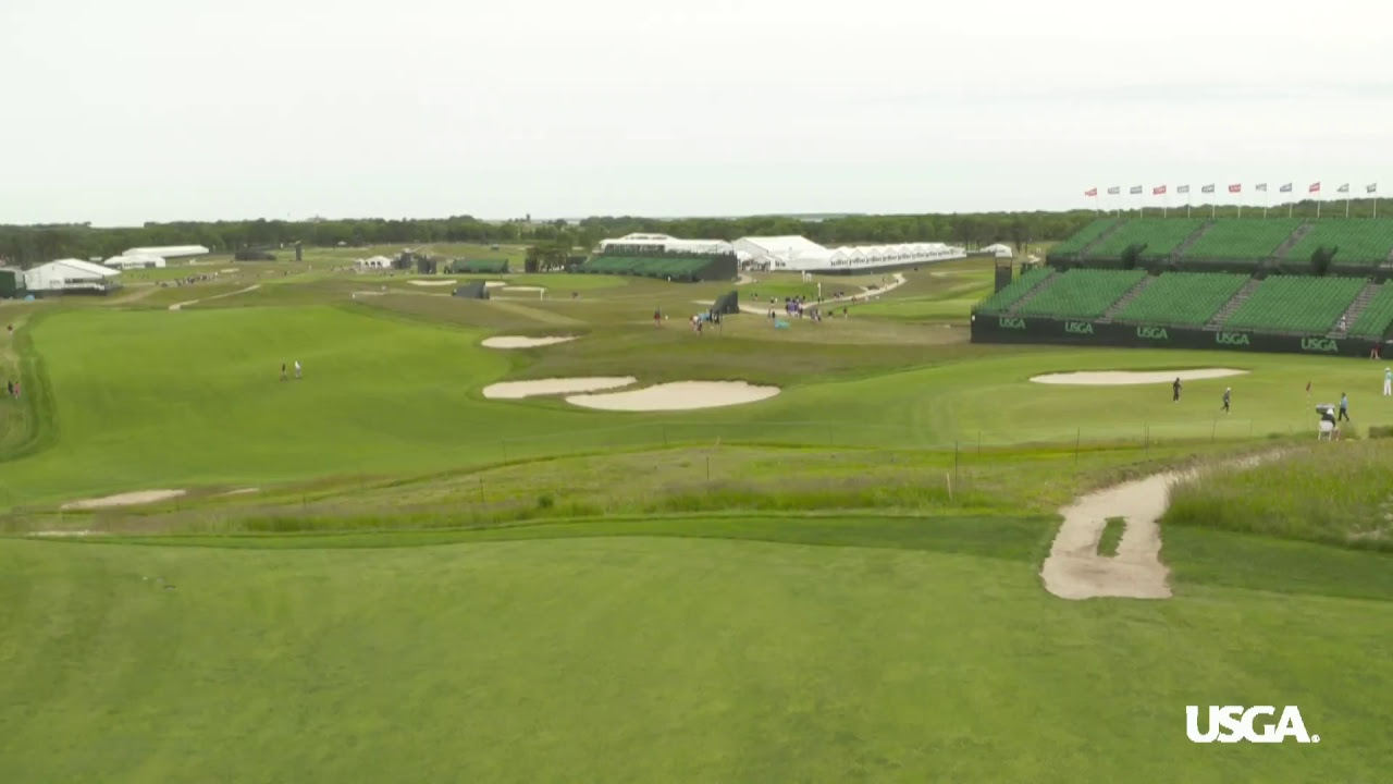US Open 2018 practice rounds at Shinnecock Hills Golf Club