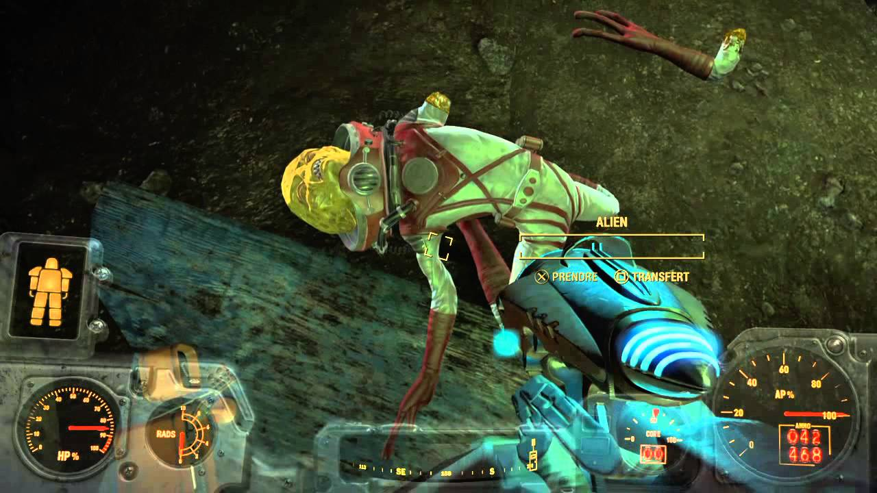 extraterrestre fallout 4