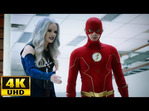 The Flash 6x03 Flash And Frost Stop A Metahuman At Mercury Labs [4K Ultra HD]