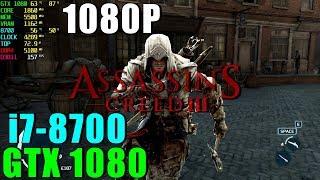 Assassins Creed III GTX 1080 & i7 8700 [ Ultra - 1080P ]