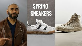 10 Best Men's Spring 2018 Sneakers Under $100/Best Spring Men's Sneakers