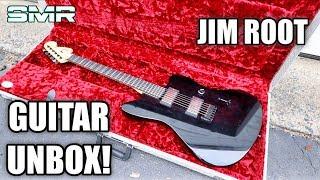 JIM ROOT FENDER JAZZMASTER GUITAR UNBOXING!