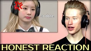 HONEST REACTION to TWICE dahyun making jyp quiver in fear