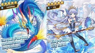 2x Rainbows in one summon?!| Dragalia Lost| 3K Wyrmites Lily & Leviathan Summons!