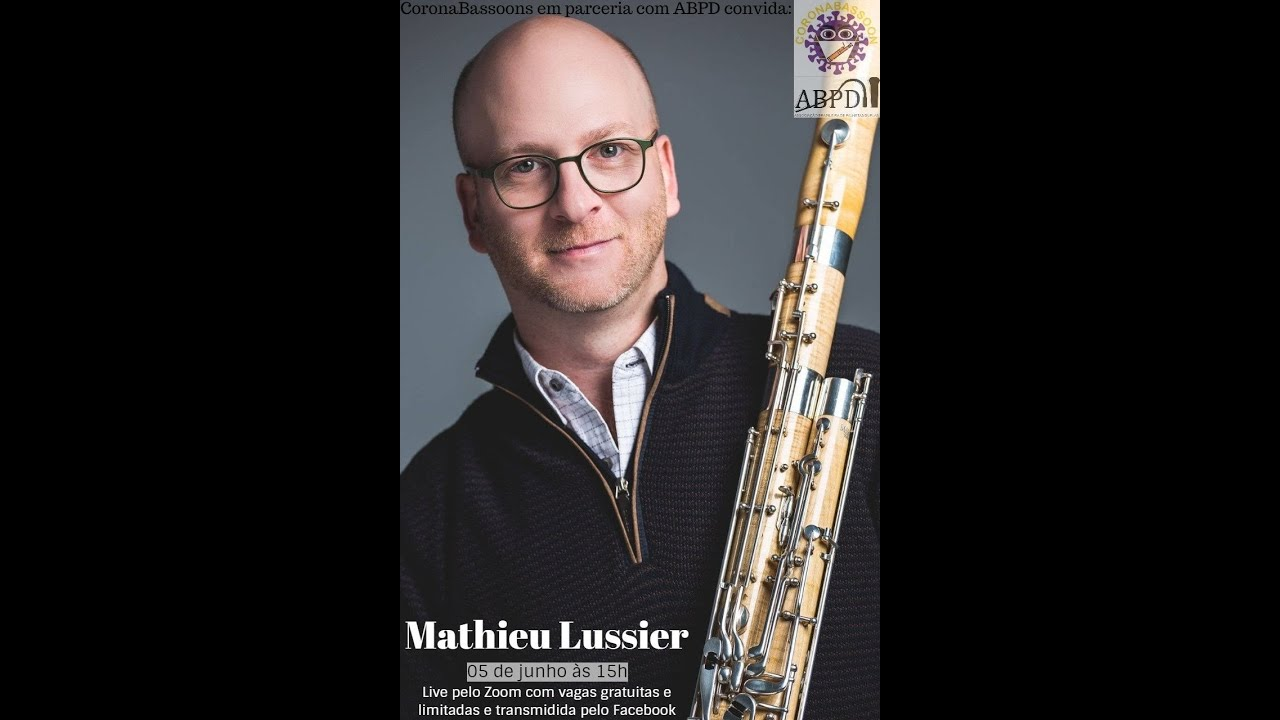 Live com o professor Mathieu Lussier