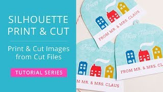 Silhouette Print & Cut Tutorial - Make a Print & Cut Image from a Regular Cut File