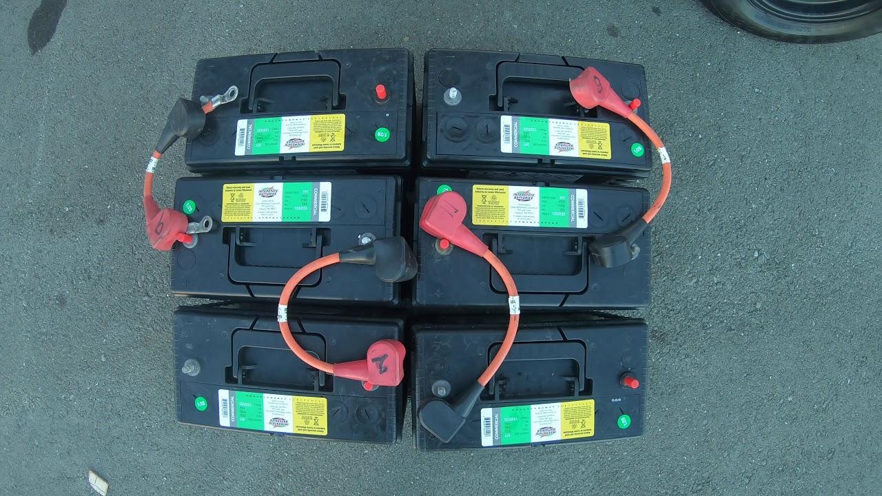 2011 Gem Car E6 Battery diagram - YouTube | Gem Golf Car Wiring Diagram |  | YouTube