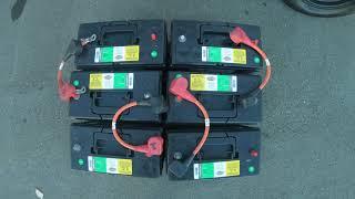 2011 Gem Car E6 Battery diagram - YouTubeYouTube
