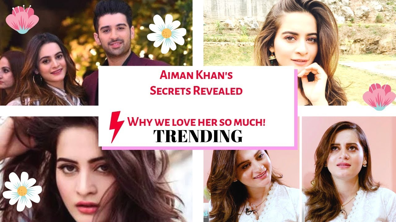 Aiman Khan's Cutest Conversation about her Personal Life from her latest interview!