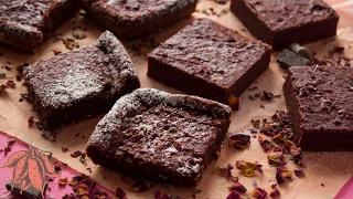 Vegan Beet Brownies | Valentine's Day Dessert