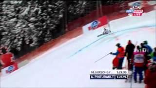 Géant  Alexis Pinturault, roi de Garmisch (2e manche) (HD)