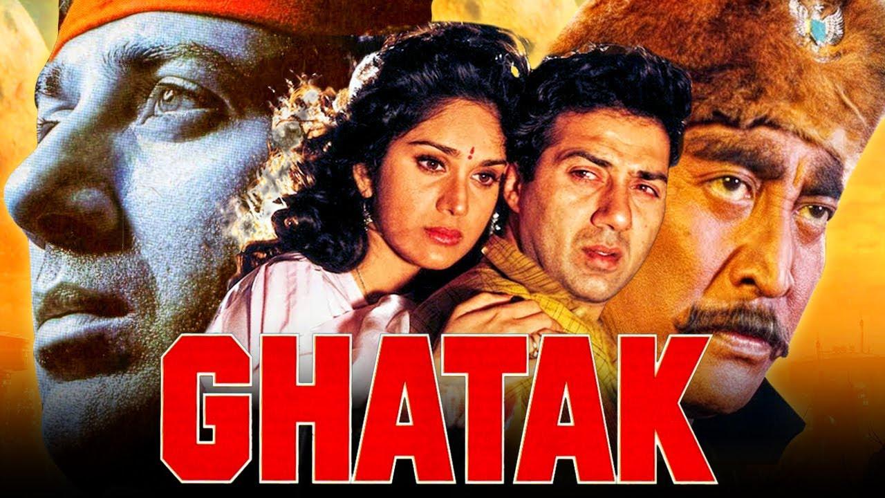 Download Ghatak (1996) Full Hindi Movie | Sunny Deol, Meenakshi Seshadri, Amrish Puri, Danny Denzongpa