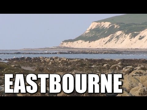 Eastbourne In East Sussex - British Shore Fishing Marks, South Coast, England, Britain, UK