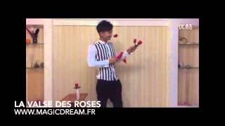 magie,  la valse des roses - www.magicdream.fr