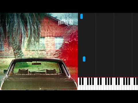 How To Play The Suburbs By Arcade Fire On Piano Sheet Music Youtube