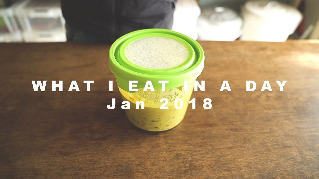 What I Eat in a Day // Jan 2018