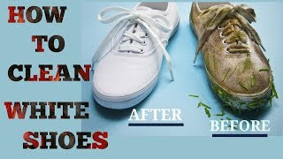 How To Clean White Shoes | Easy Fashion Hack For Keeping Shoes White