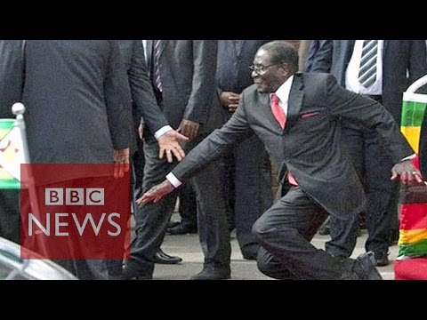 Zimbabwe: Mugabe fall caught on camera