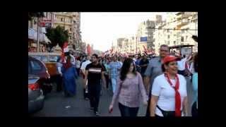 من الحجاز الى الاتحادية أحلى ثورة مصريه Heliopolis day out 30-6-2013 Thumbnail