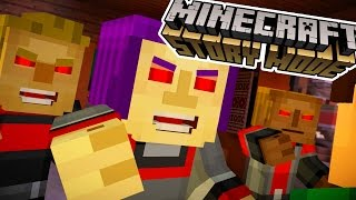 POSSESSED EVIL TOWNSPEOPLE?!?! | Minecraft : Story Mode | Episode 7 [1]