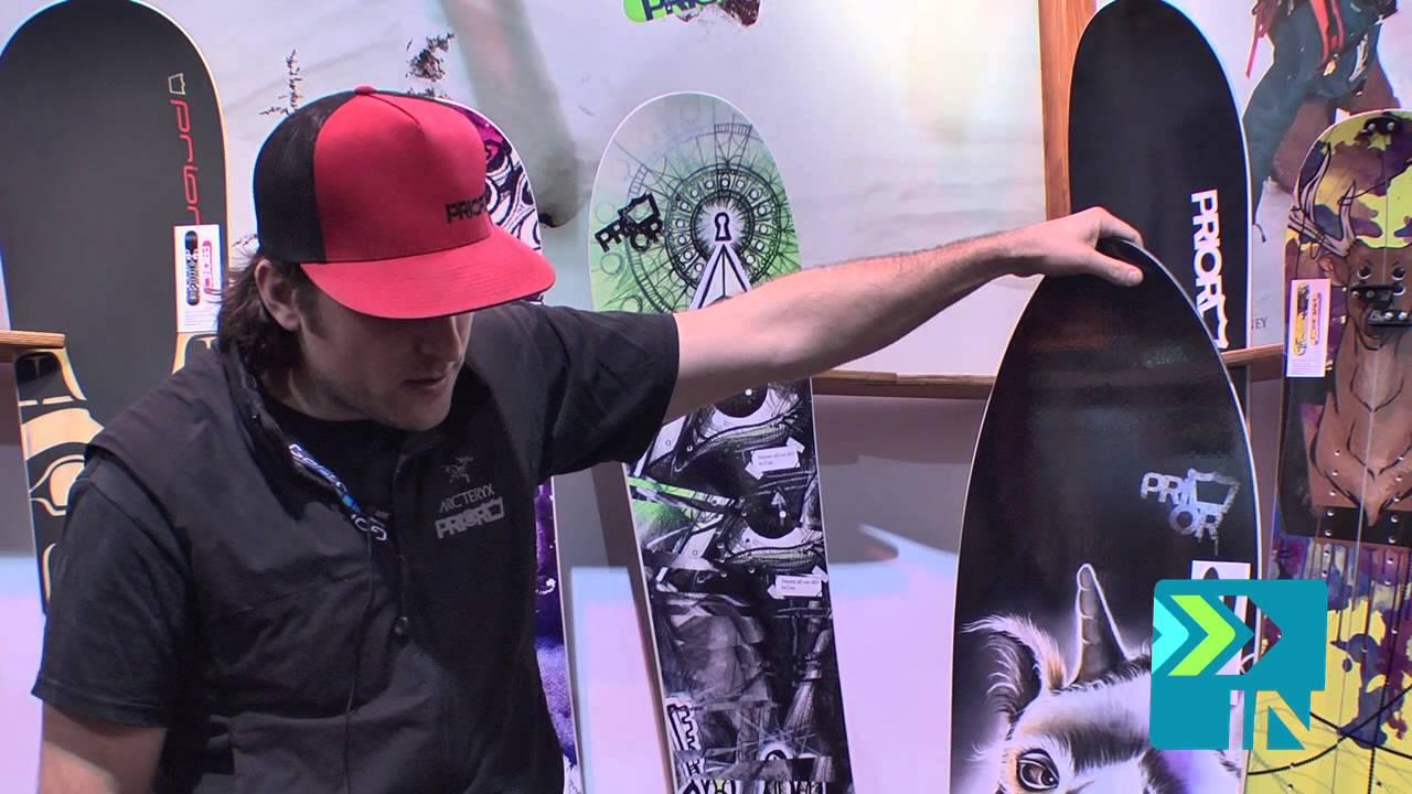 066b0d363d1 Prior Fissile Snowboard - Board Insiders - 2014 Prior Snowboards Fissile  Snowboard