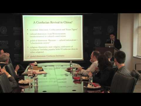 Yi Liu on the Revival of Confucianism in China